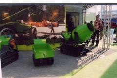 Minicariole semoventi / Self moving mini - barrows
